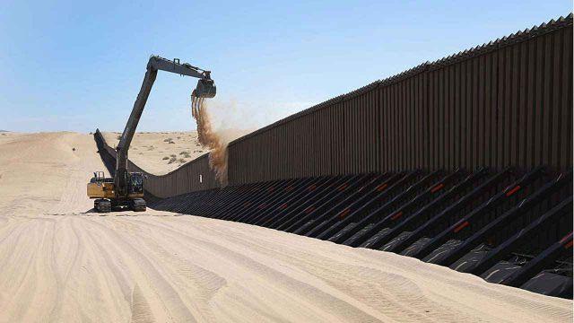 Cancelará Biden el muro fronterizo