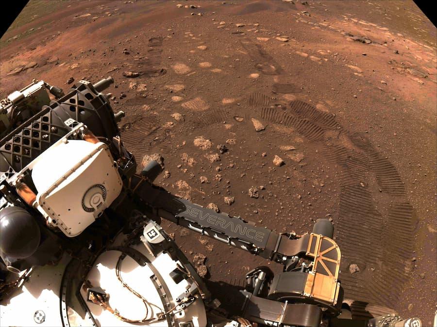 Perseverance comienza su misión de encontrar vida en Marte
