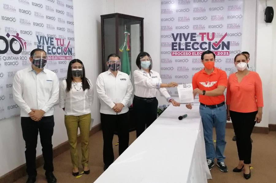 Se inscriben candidatos de Movimiento Ciudadano a alcaldías