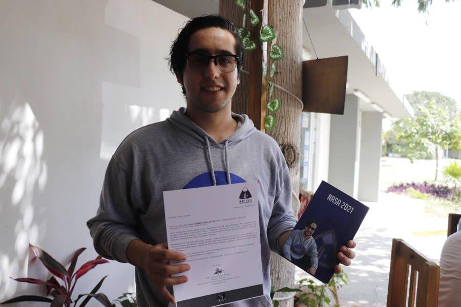 Representará Alejandro Romero Reyes a Quintana Roo en programa de la NASA