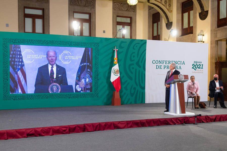 Expone AMLO en Cumbre sobre Cambio Climático beneficios de Sembrando Vida
