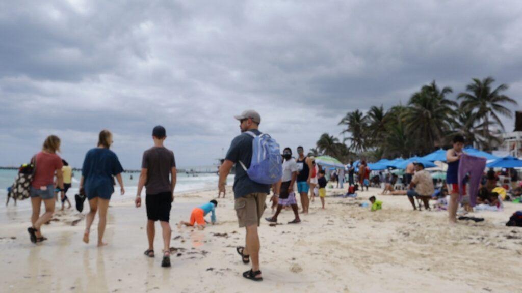 En Julio llegaron a México más de tres millones de turistas