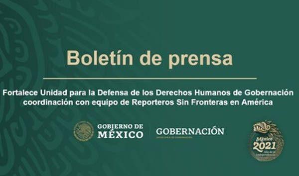 Se reúnen UDDH y Reporteros Sin Fronteras en América