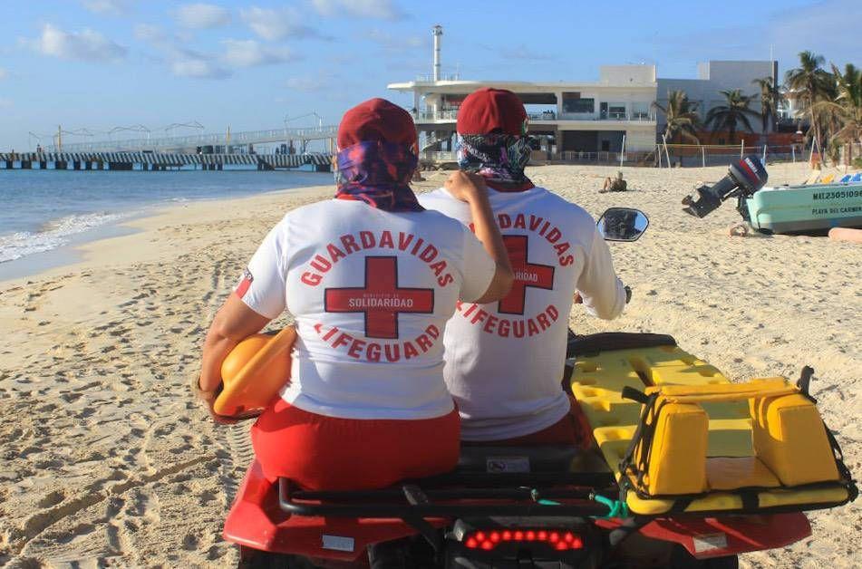 Guardavidas de Solidaridad refuerzan vigilancia en playas