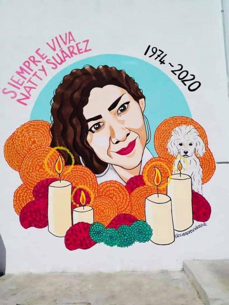 Recuerdan feminicidio de Natty en isla mujeres