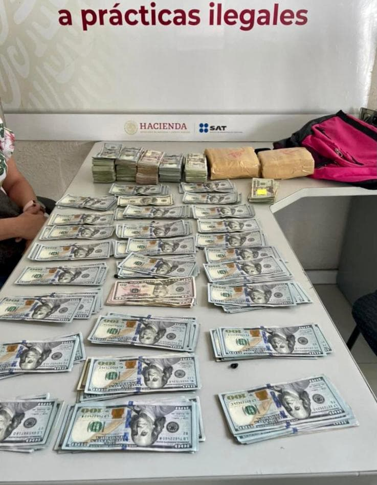 Decomisan más de 3.9 mdp en la Aduana de Tijuana