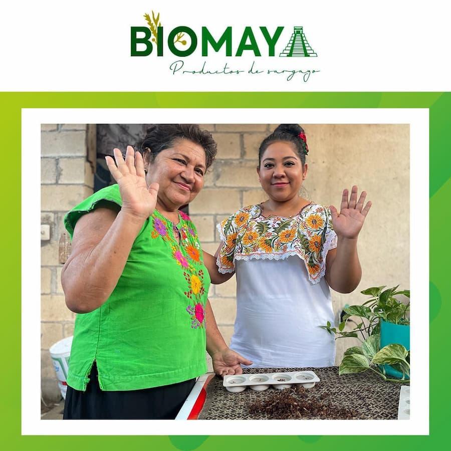 Respalda BioMaya el trabajo de las amas de casa de comunidades mayas