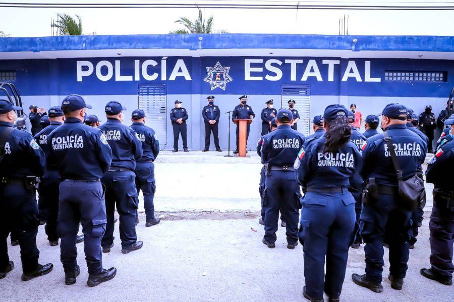 Toma seguridad pública mando de la policía de Tulum