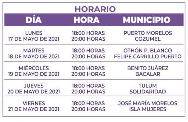 IEQROO invita a seguir los debates de las candidatas y candidatos