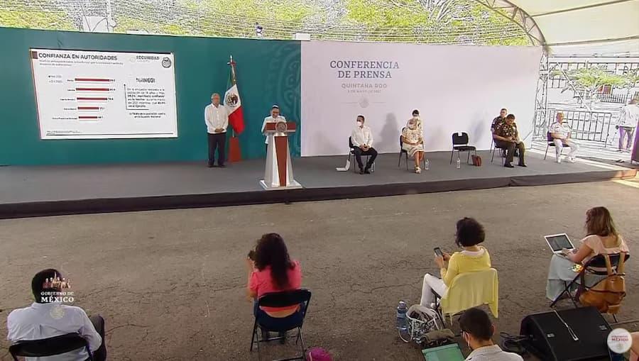 A la baja, delitos del fuero común y federal en Quintana Roo: SSPC