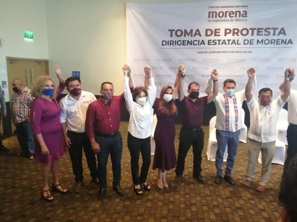 Humberto Aldana, nuevo presidente estatal de MORENA en Quintana Roo