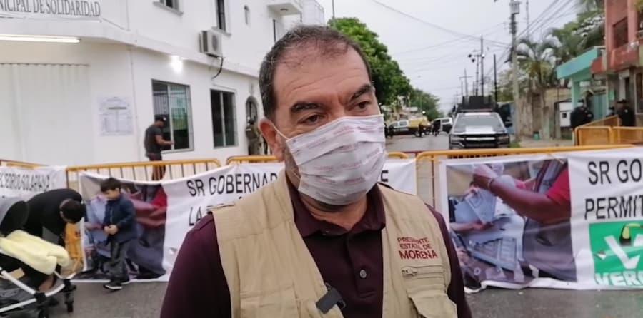 Pide Morena que actúe el IEQROO en Solidaridad con transparencia y legalidad