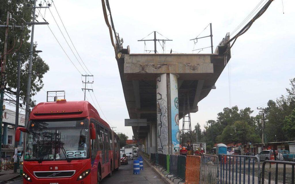 Por falla en construcción el accidente de L12