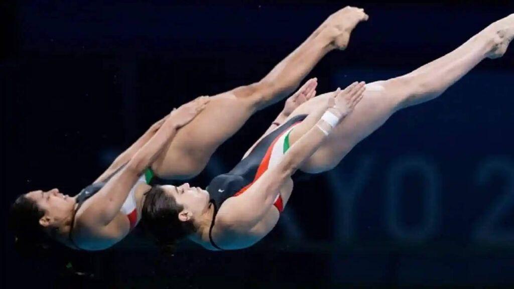 Gana México bronce en clavados sincronizados femenil