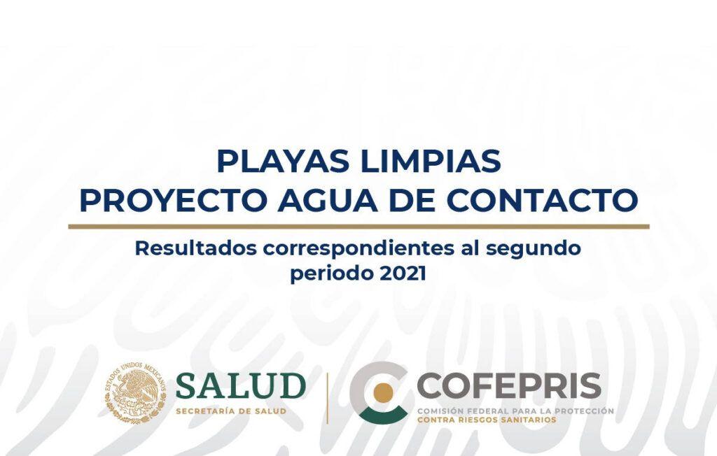 Aptas 198 de 199 playas analizadas para periodo vacacional 2021