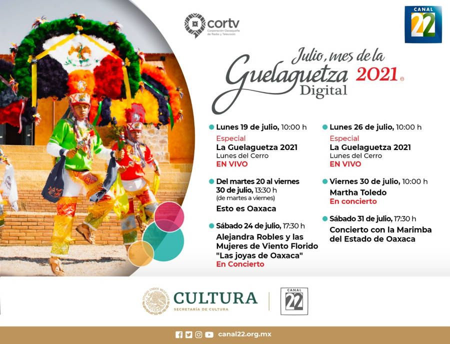 Inicia la Guelaguetza virtual