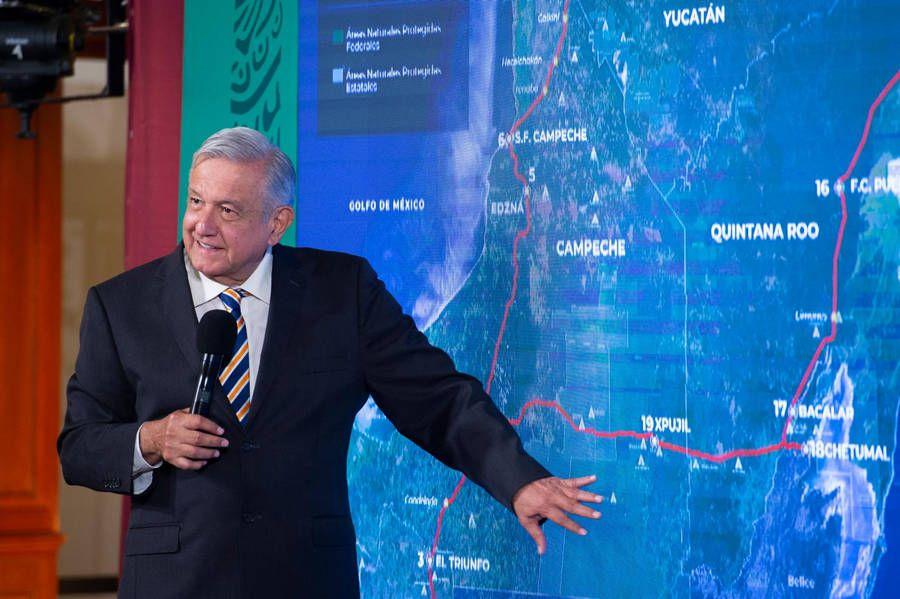 Tren Maya no dañará el ambiente: AMLO