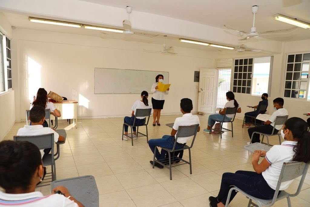 Inicia el ciclo escolar 2021-2022 en Quintana Roo con 341 escuelas de manera presencial