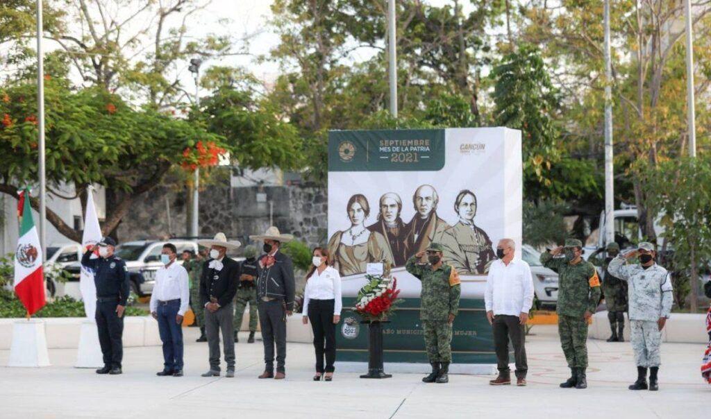 Conmemora Benito Juárez Independencia de México