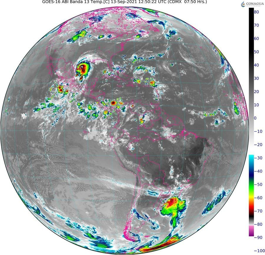 Pronostican lluvias aisladas en Yucatán y Quintana Roo