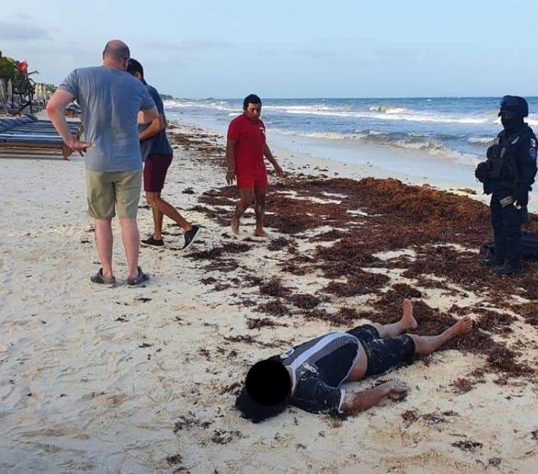 Mueren ahogadas dos personas en Tulum