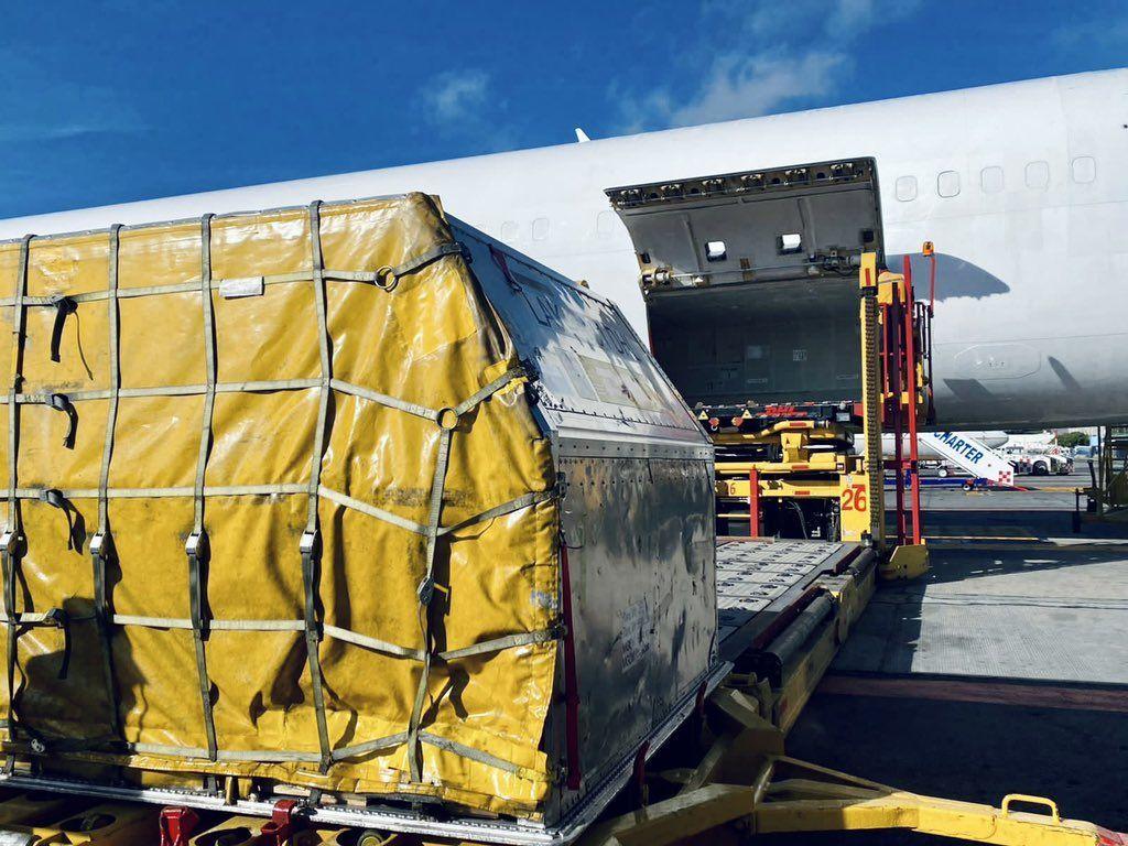 Llega a México cargamento con más de 2 millones de vacunas