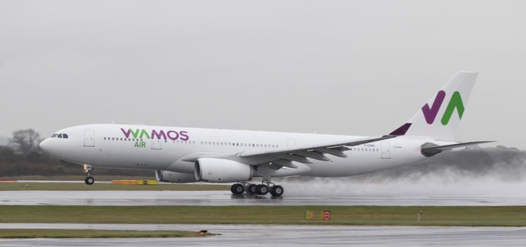 Wamos Air suspende temporalmente vuelos a Cancún
