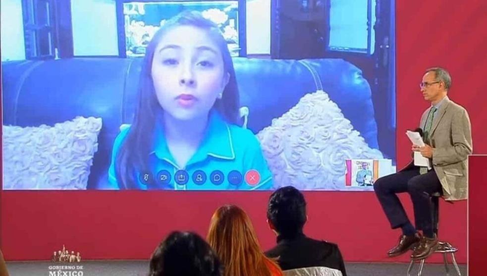 Vacunan a Zulma, la niña que se amparó en Veracruz