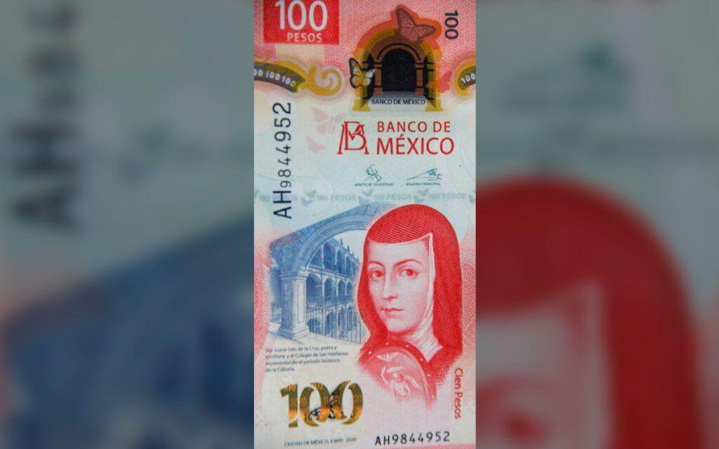 Nuevo billete de 100 pesos gana premio mundial por su diseño