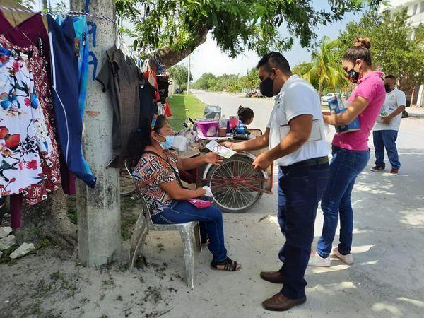 Continúan las Brigadas de Servicios en Puerto Morelos