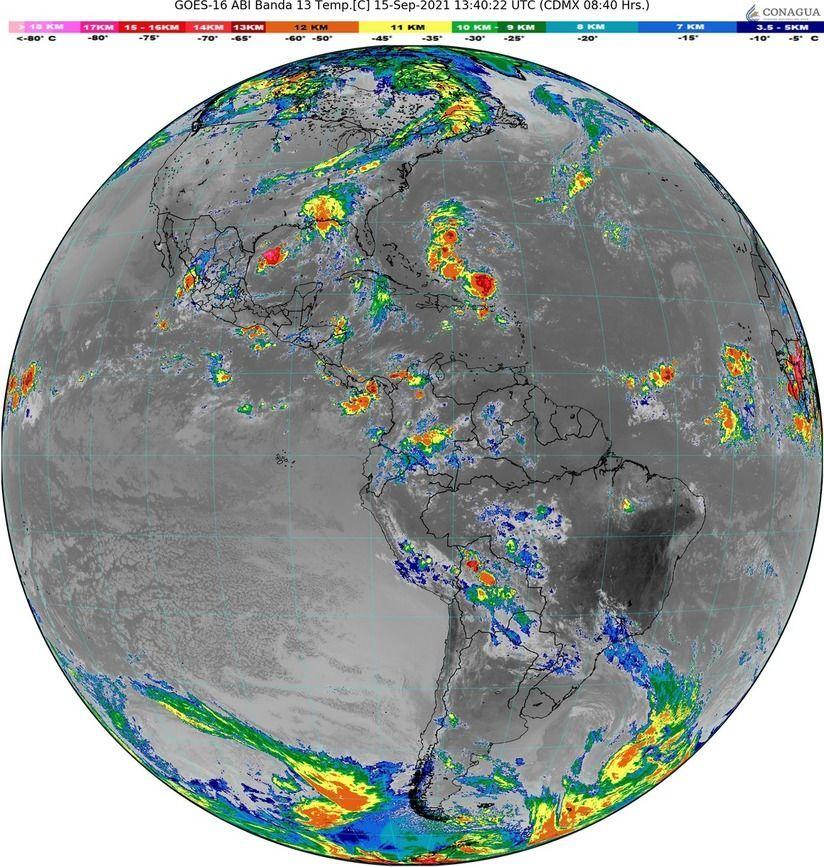 Onda tropical recorrerá el oriente y sur del país
