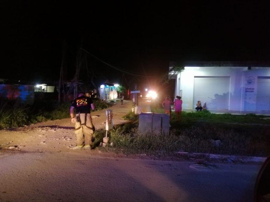 Hombre explota tanque de gas y luego muere electrocutado