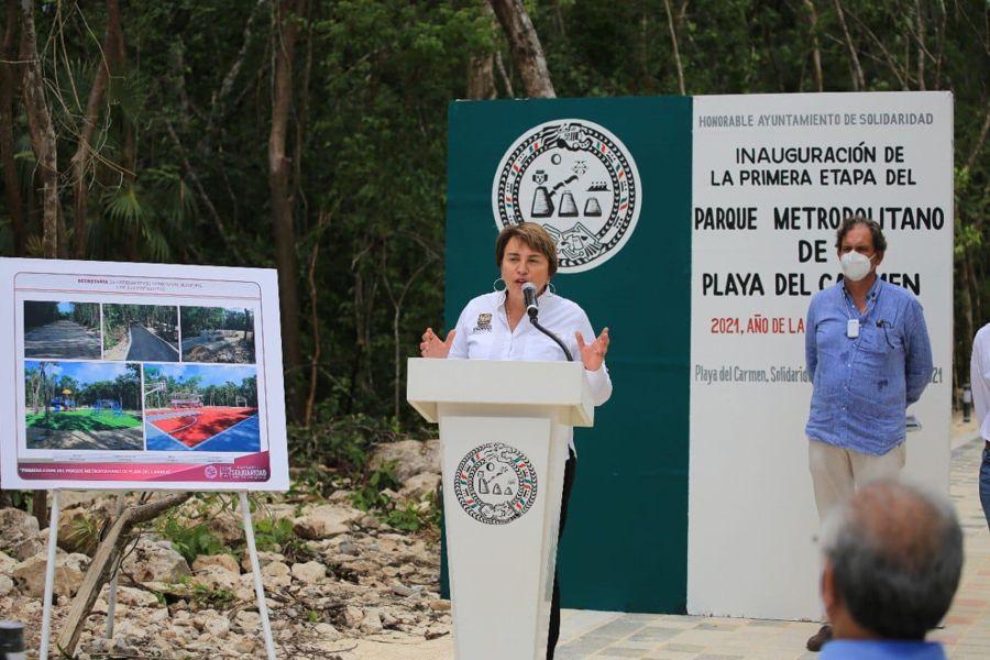 Impulsa Gobierno de Solidaridad el desarrollo social con nuevo Parque Metropolitano