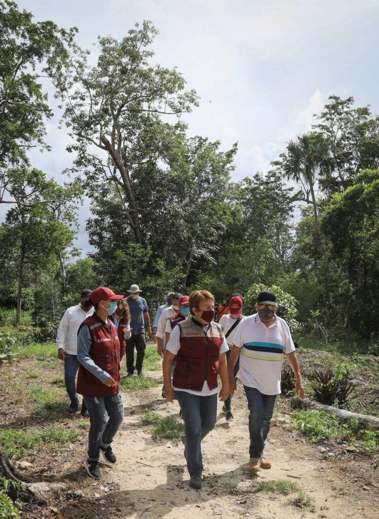 Cumple Laura Beristain objetivos de la Agenda 2030 con atención al campo