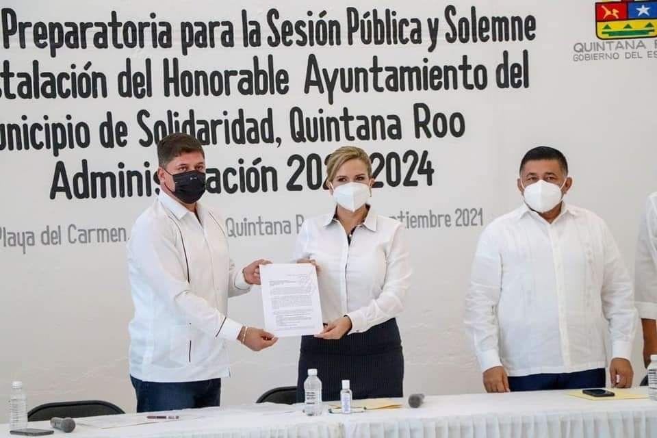 Inicia proceso de instalación de nuevo ayuntamiento en Solidaridad