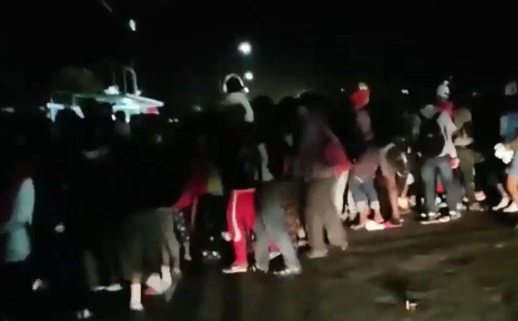 Desarticulan caravana de migrantes en Chiapas