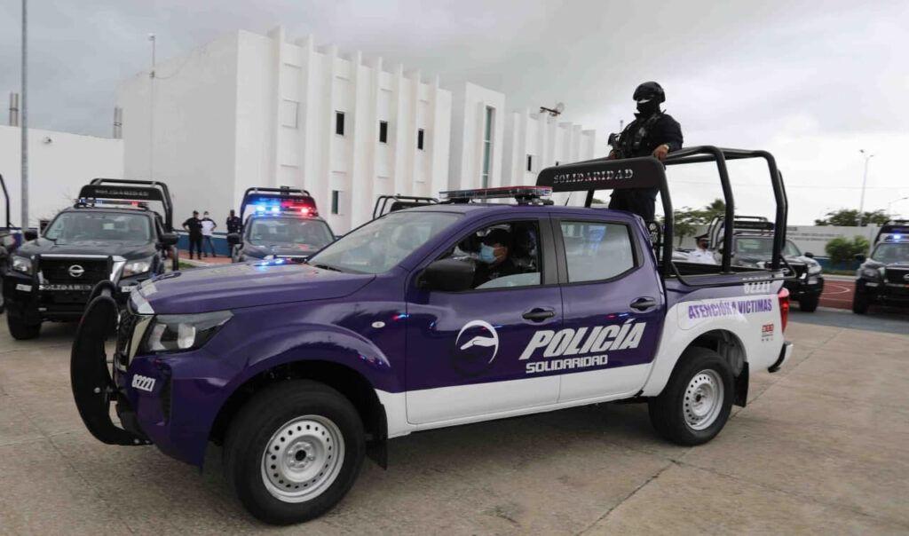 Gobierno de Solidaridad, ejemplo estatal en materia de seguridad pública