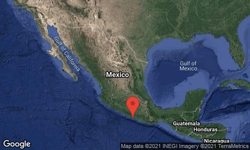 Se percibe sismo de 6.9 en México