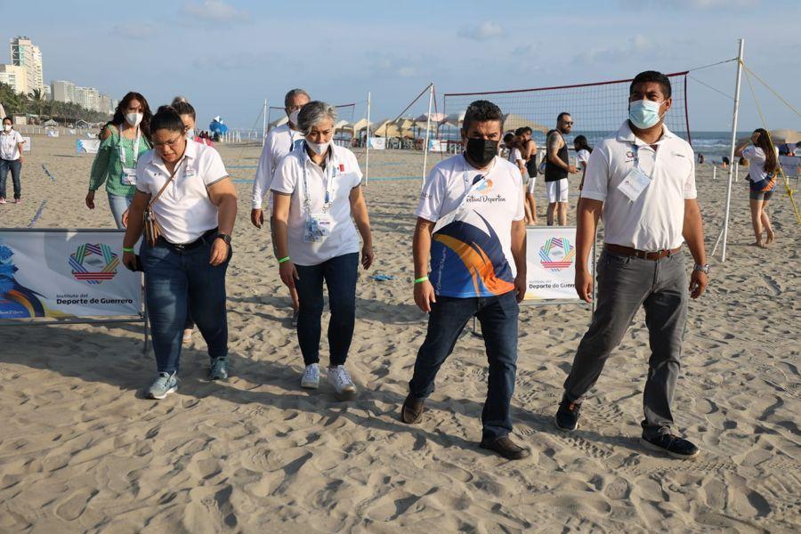 Listo Acapulco para Festival Deportivo de Mar y Playa