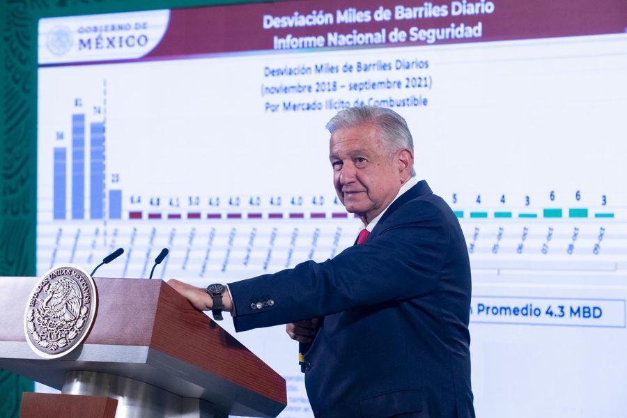 Presenta gobierno informe sobre iniciativa de reforma eléctrica