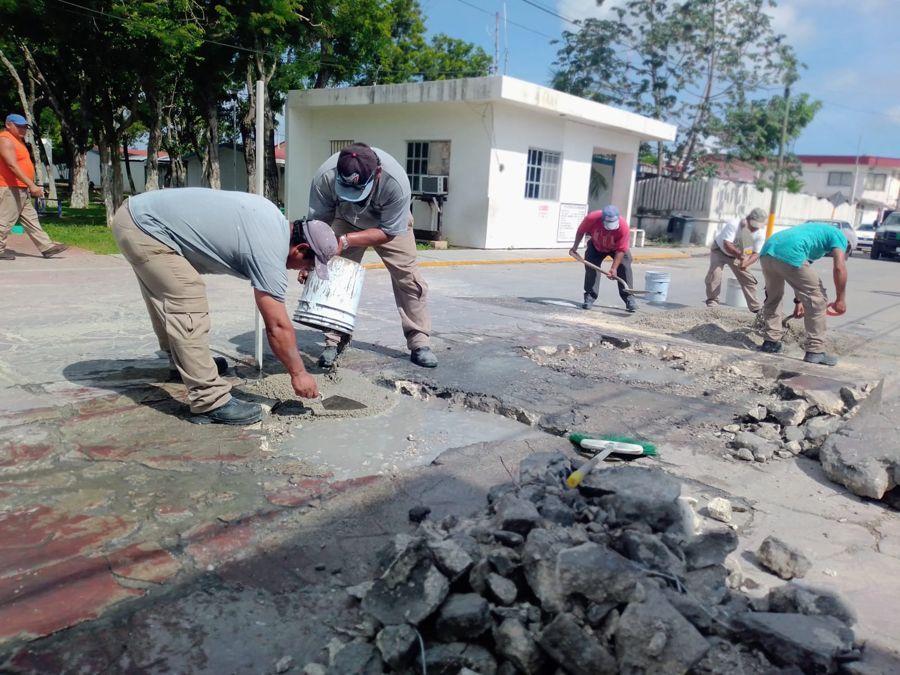"""Avanza Cozumel con programa """"Recuperemos nuestros espacios públicos"""""""