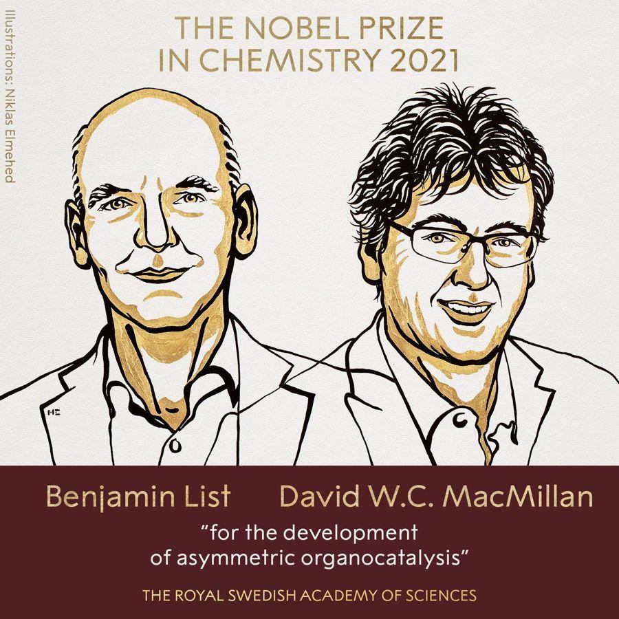 Benjamin List y David MacMillan, premio Nobel de Química